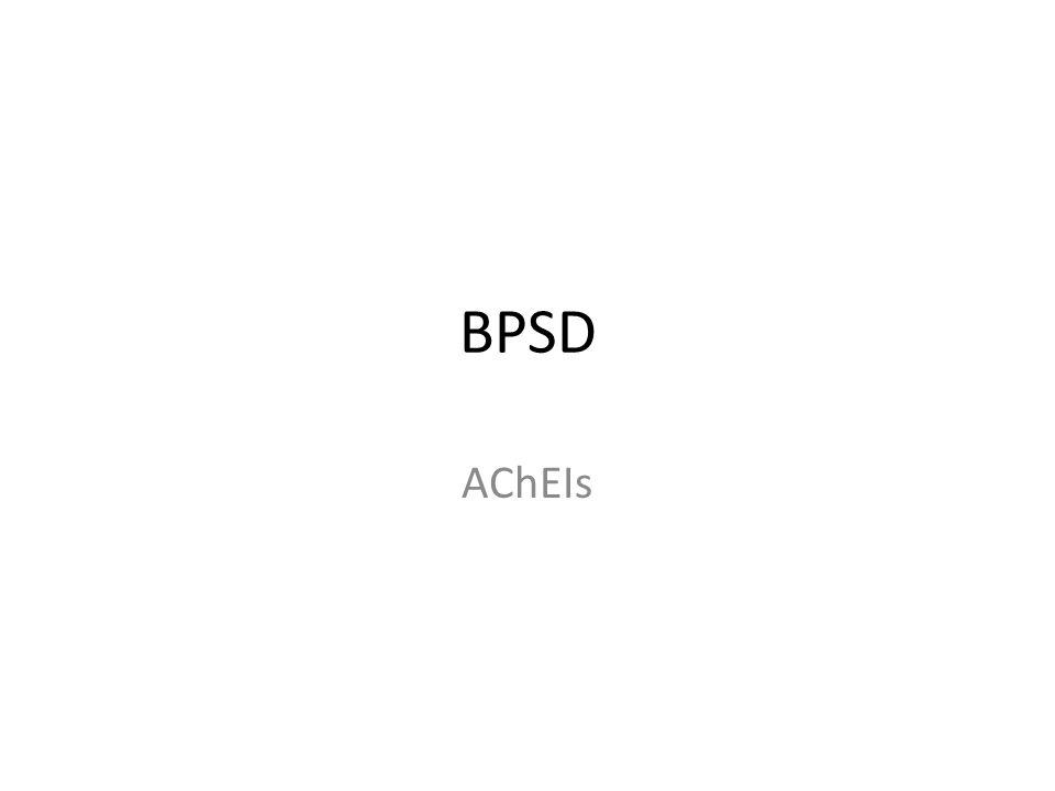 BPSD AChEIs