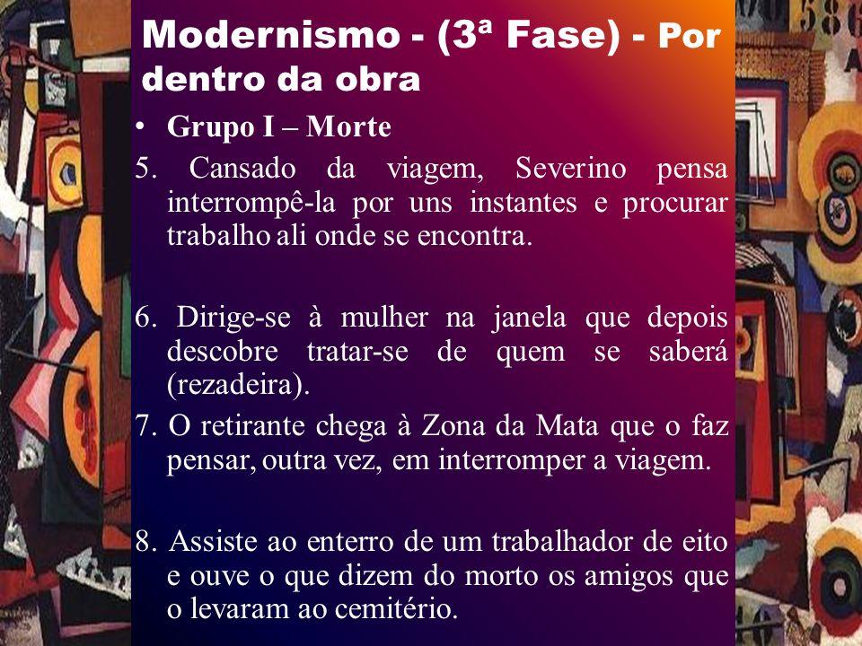 Modernismo - (3ª Fase) - Por dentro da obra Grupo I – Morte 5.