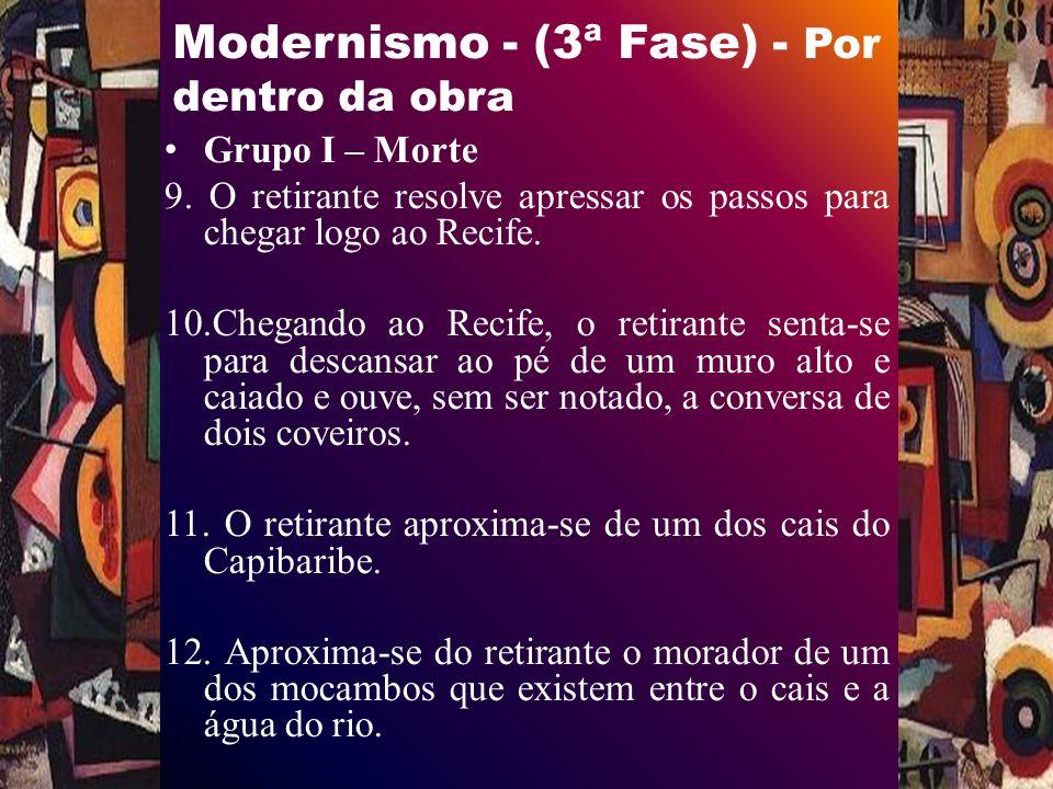 Modernismo - (3ª Fase) - Por dentro da obra Grupo I – Morte 9.