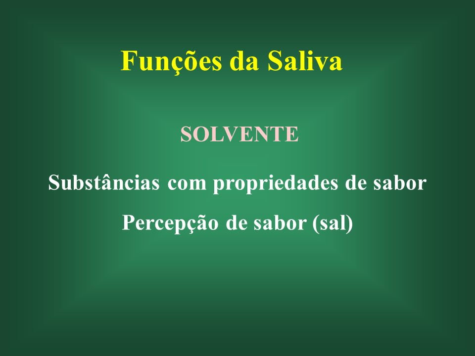 Funções da Saliva Defesa Microrganismos Equilíbrio ecológico