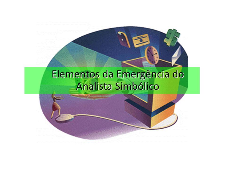 Elementos da Emergência do Analista Simbólico