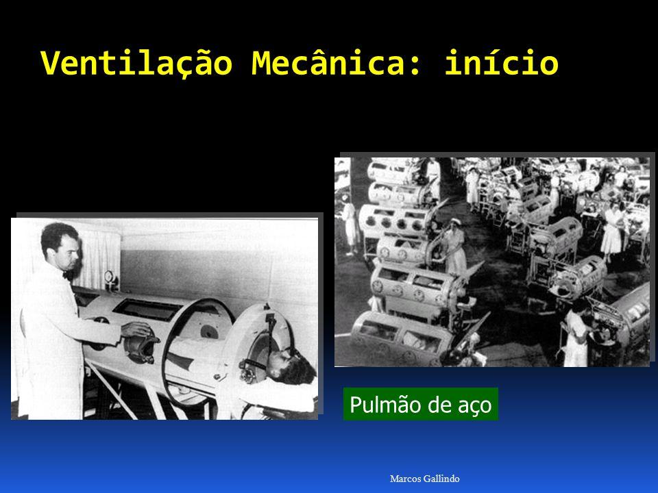 Marcos Gallindo Pulmão de aço Ventilação Mecânica: início