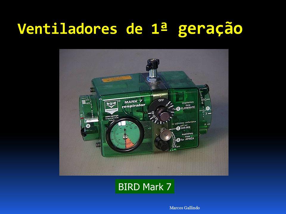 Marcos Gallindo BIRD Mark 7 Ventiladores de 1 ª geração