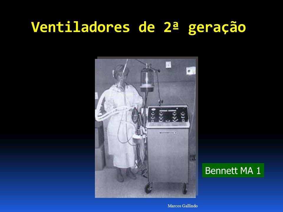 Marcos Gallindo Bennett MA 1 Ventiladores de 2ª geração