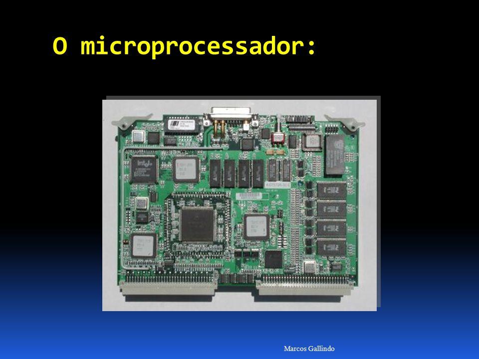 Marcos Gallindo O microprocessador: