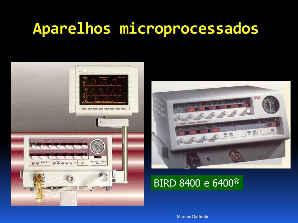 Marcos Gallindo BIRD 8400 e 6400 ® Aparelhos microprocessados