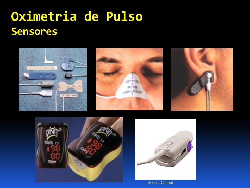 Oximetria de Pulso Sensores Marcos Gallindo