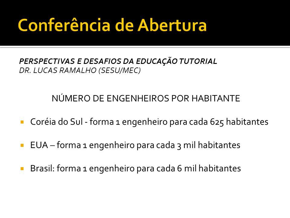 PERSPECTIVAS E DESAFIOS DA EDUCAÇÃO TUTORIAL DR.