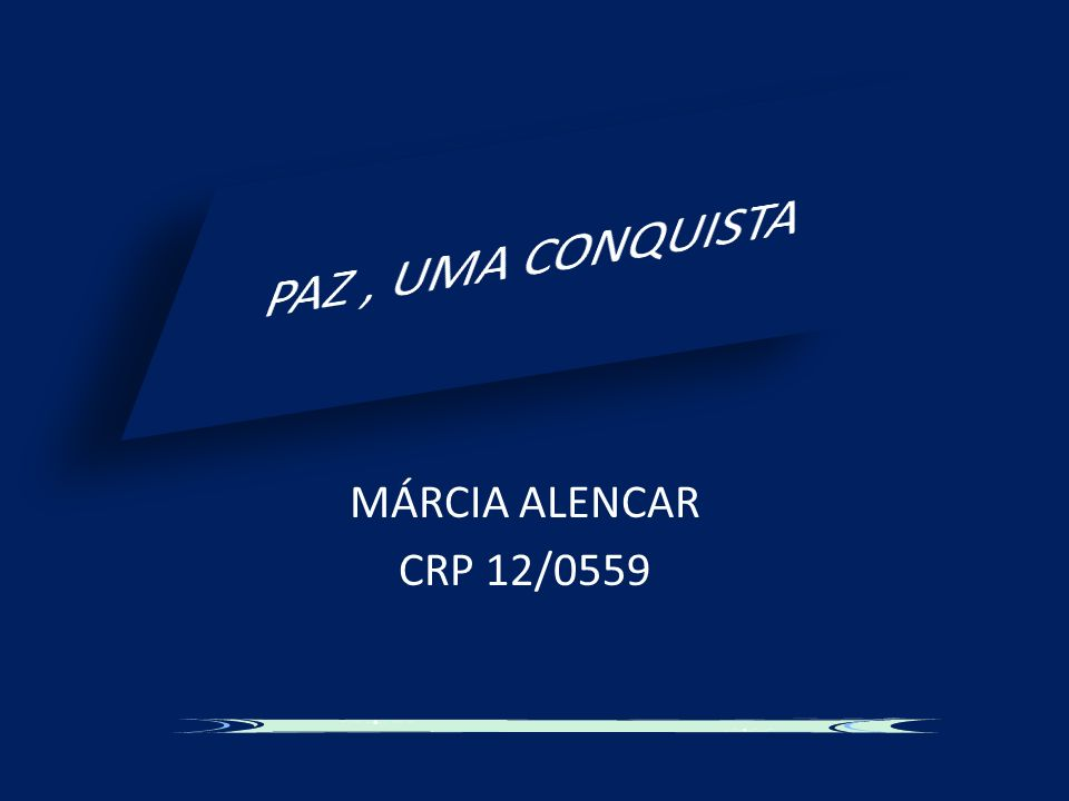 MÁRCIA ALENCAR CRP 12/0559