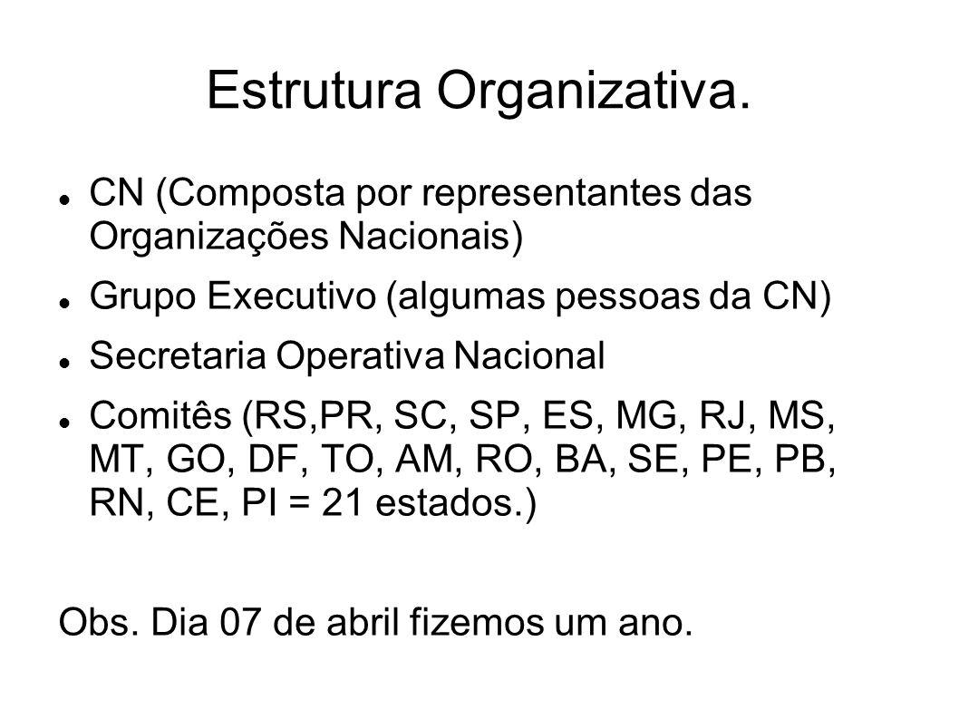Estrutura Organizativa.