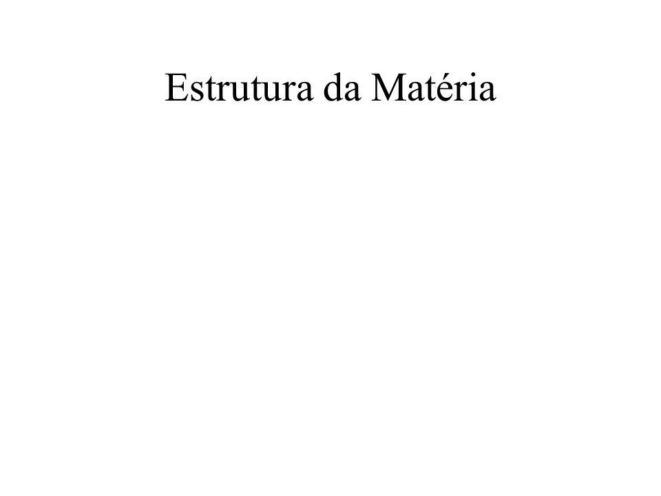 Estrutura da Matéria
