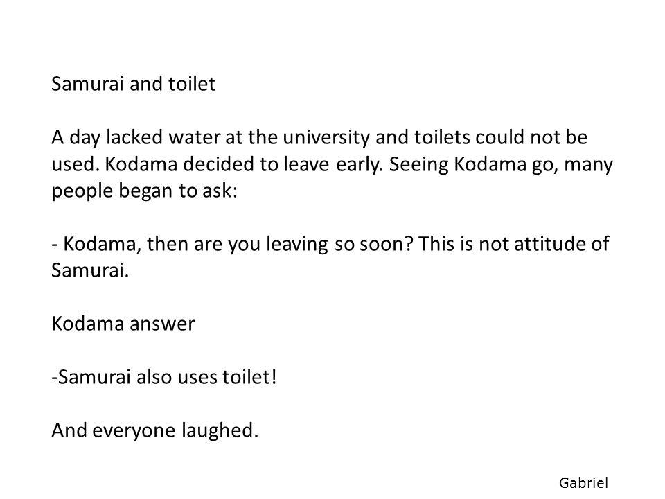 Licinio Prof. Kodama foi meu orientador no meu doutorado.