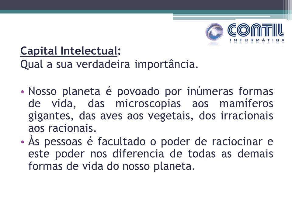 Capital Intelectual: Qual a sua verdadeira importância. Nosso planeta é povoado por inúmeras formas de vida, das microscopias aos mamíferos gigantes,