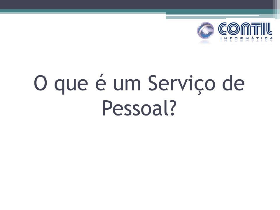 O que é um Serviço de Pessoal?