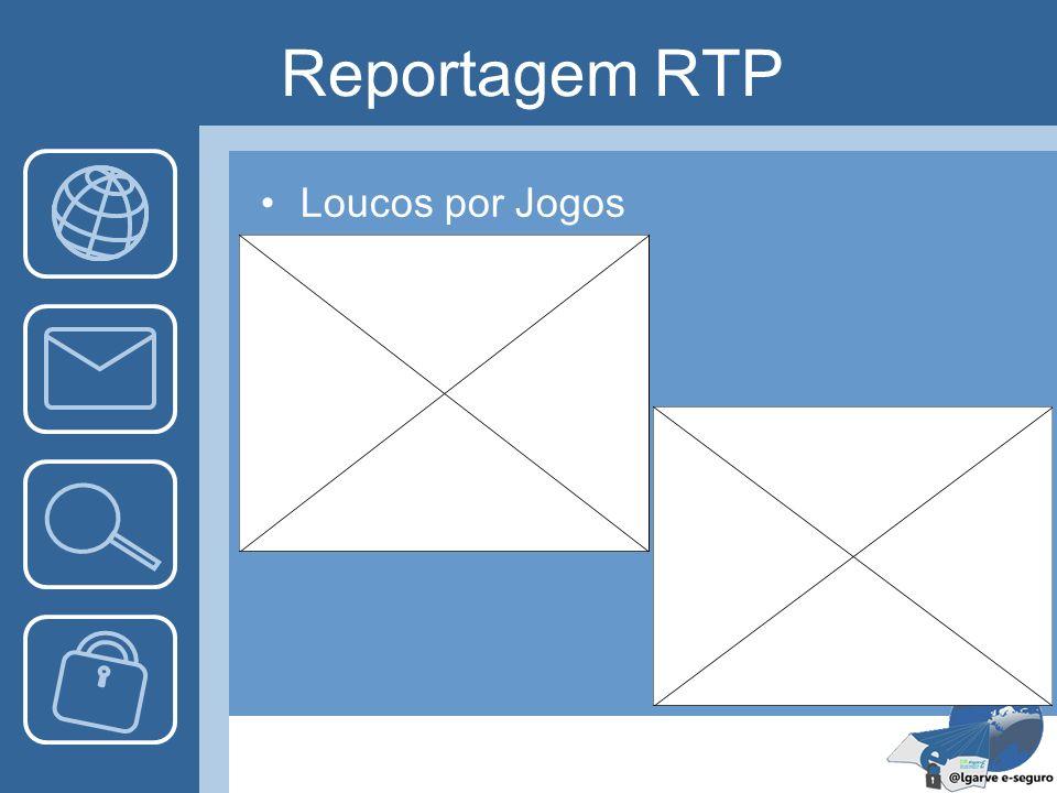 Reportagem RTP Loucos por Jogos