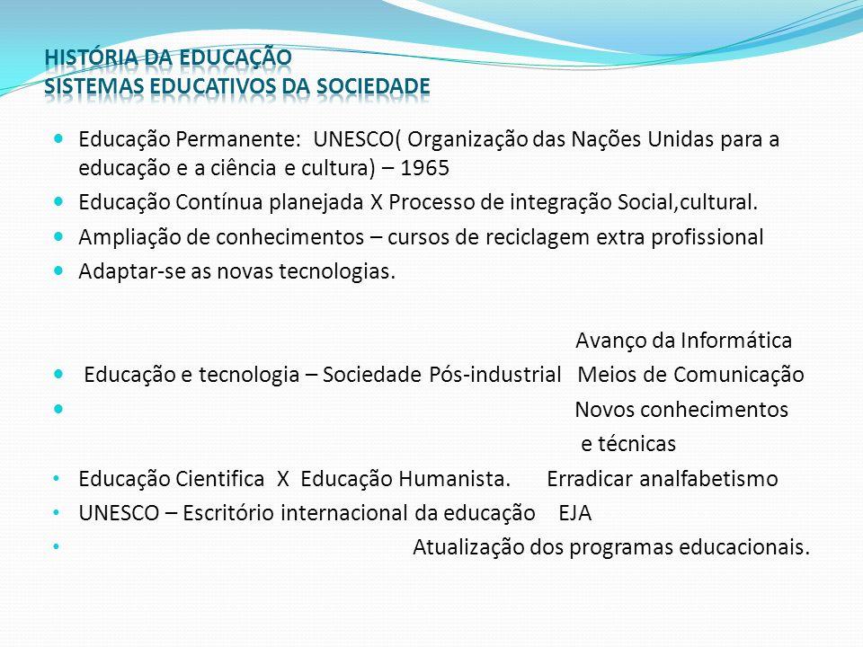 História da Educação no Brasil.Portugueses: Padrões Europeus de educação X Educação Indígena.