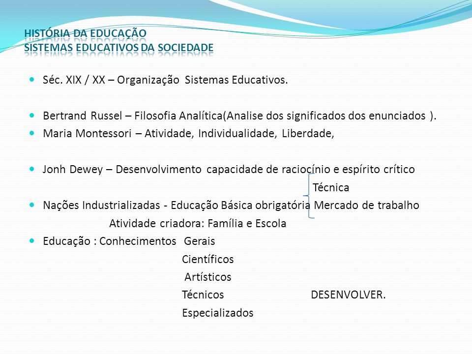 Ramificações Especiais: Educação Artística: Fator indispensável ao desenvolvimento dos aspectos da personalidade – Séc.XX – Augusto Rodrigues.