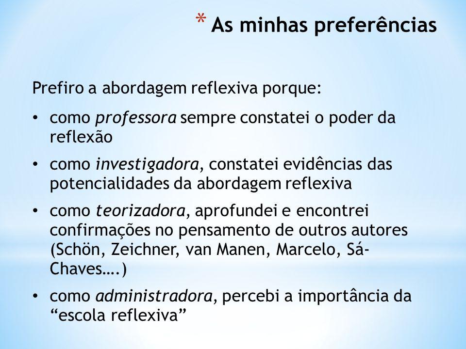 Amaral, M.J. (2011) Contributo dos portfolios reflexivos no desenvolvimento profissional.