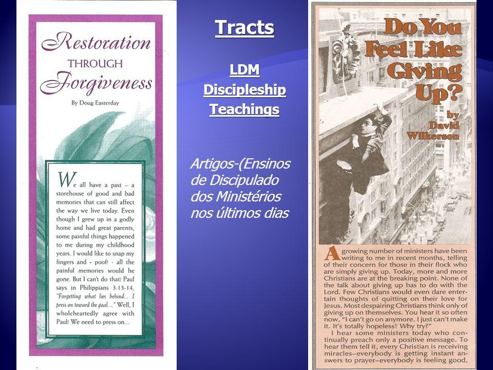 11 TractsLDMDiscipleshipTeachings Artigos-(Ensinos de Discipulado dos Ministérios nos últimos dias