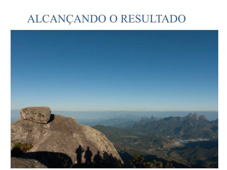 ALCANÇANDO O RESULTADO