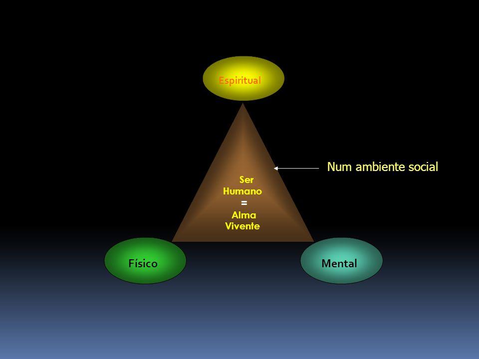 Mental Pensamentos Ações Sentimentos Ser Humano Físico Espiritual Mental
