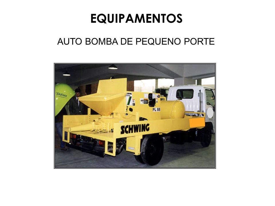 AUTO BOMBA DE PEQUENO PORTE EQUIPAMENTOS