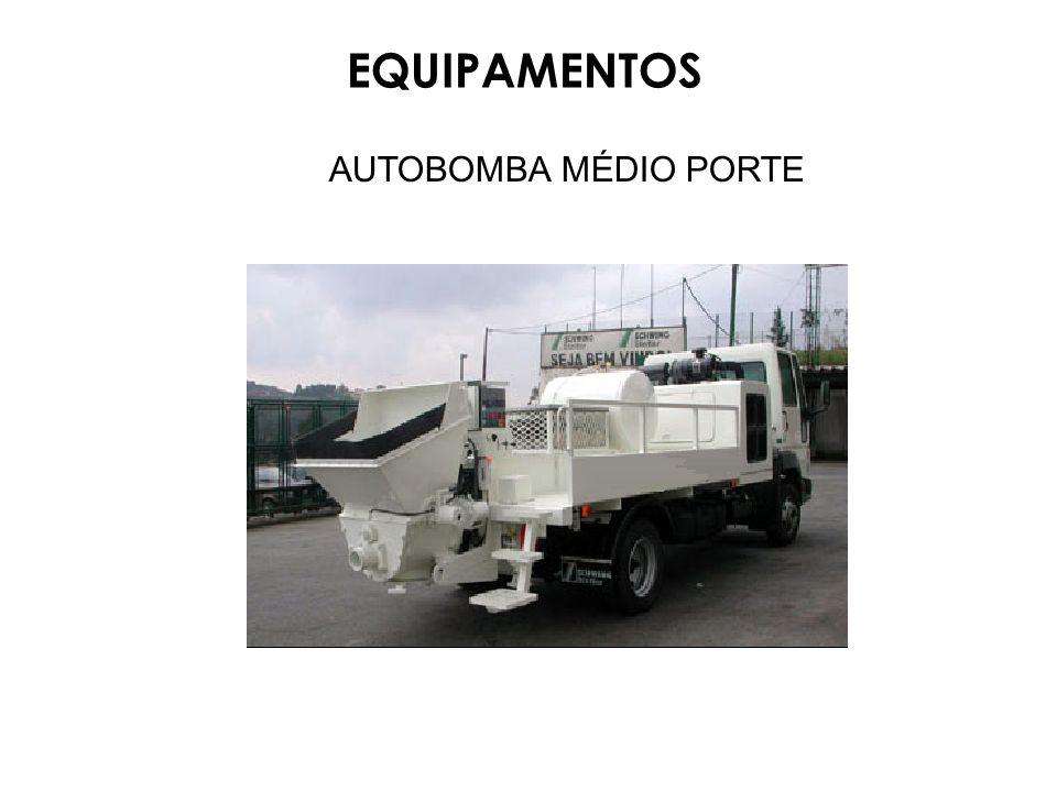 AUTOBOMBA MÉDIO PORTE EQUIPAMENTOS