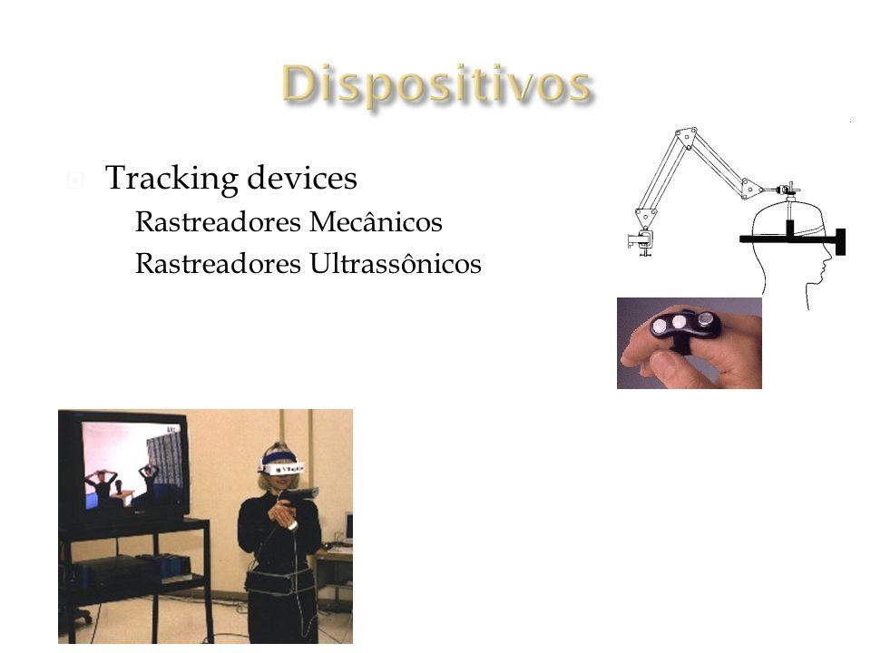 Tracking devices Rastreadores Mecânicos Rastreadores Ultrassônicos