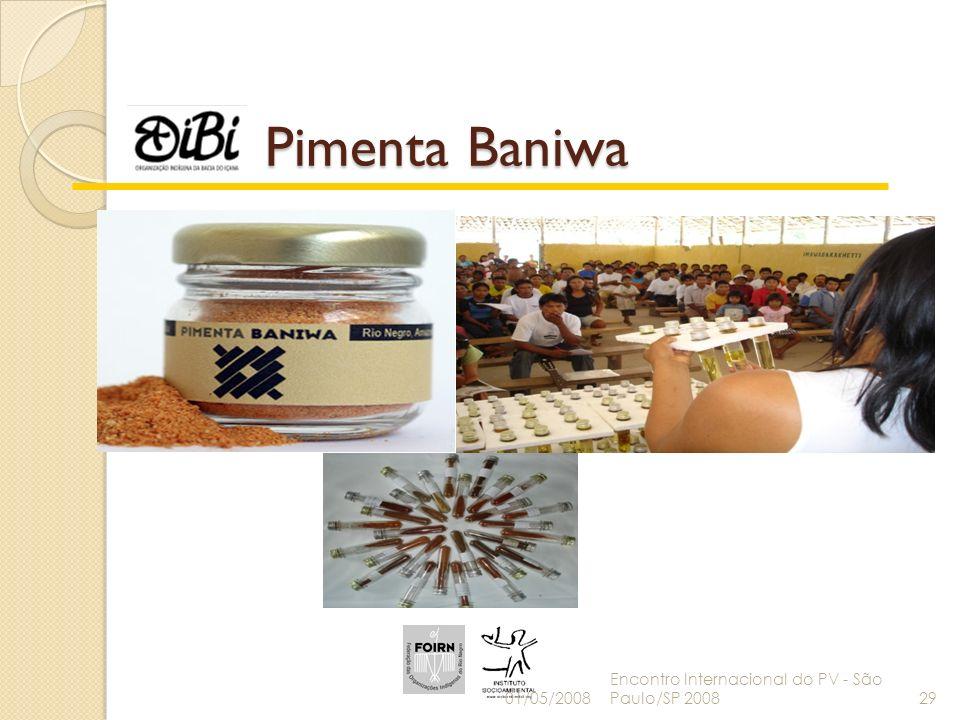 Pimenta Baniwa 01/05/2008 Encontro Internacional do PV - São Paulo/SP 200829