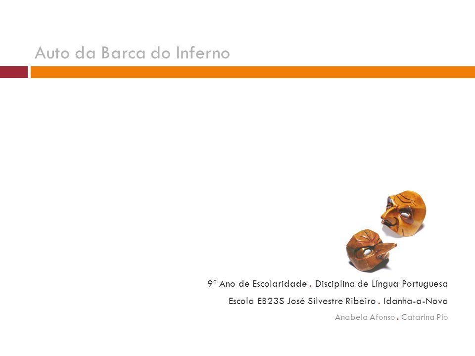9º Ano de Escolaridade.Disciplina de Língua Portuguesa Escola EB23S José Silvestre Ribeiro.