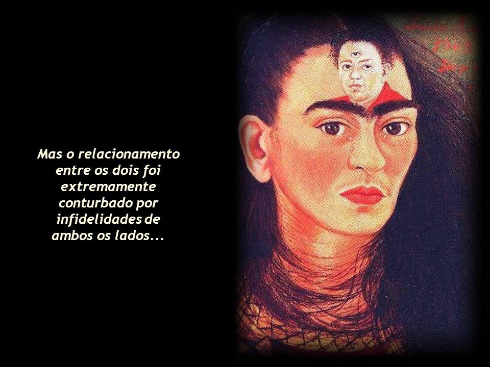 O casal tornou-se célebre, foi aclamado em viagens ao exterior, sendo que a obra de Frida logo ganhou independência em relação à do marido. Criou seu