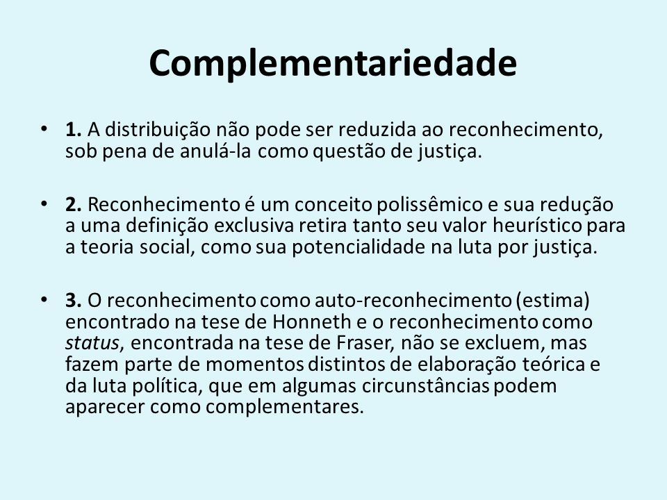Complementariedade 1.