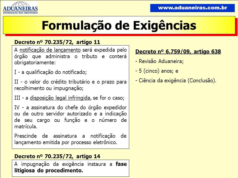 Formulação de Exigências www.aduaneiras.com.br Processo n.º: 18336.000316/00-30 Recurso n.º: 303-124245 Matéria: INFRAÇÃO ADMINISTRATIVA Recorrente: FAZENDA NACIONAL Interessado:.....................................