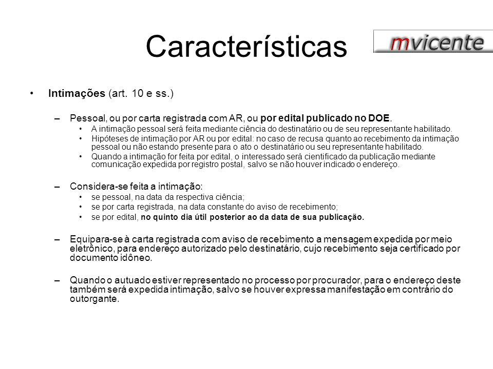 Características Nulidades (art.