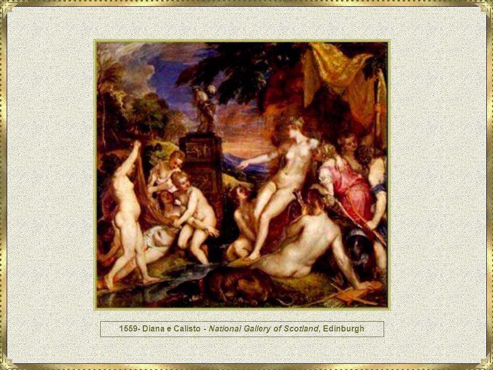 1559 - Diana e Atteone - National Gallery of Scotland, Edimburgo