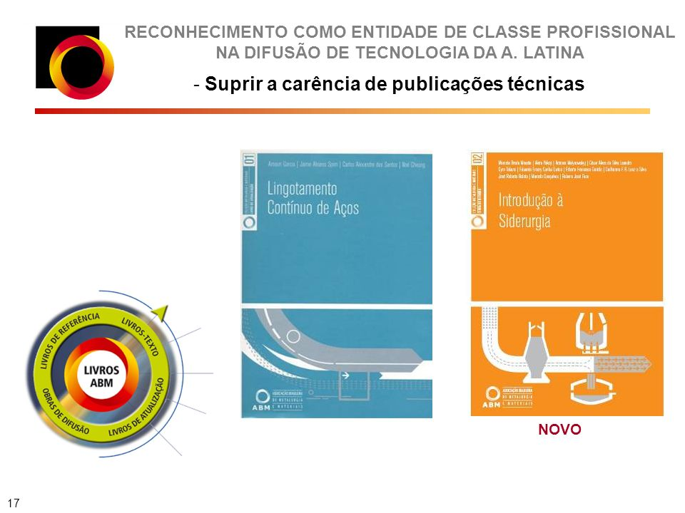 RECONHECIMENTO COMO ENTIDADE DE CLASSE PROFISSIONAL NA DIFUSÃO DE TECNOLOGIA DA A.