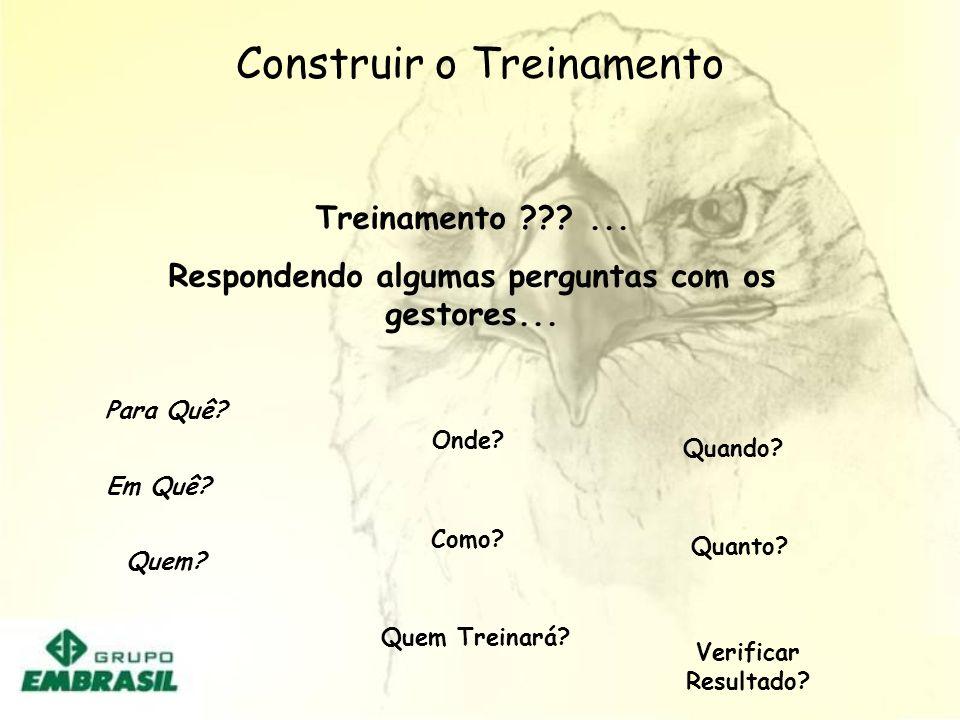 Construir o Treinamento PROMOVER TREINAMENTO DE LIDERANÇA ( EMBRASIL / NATÁLIA)PROMOVER TREINAMENTO DE LIDERANÇA ( EMBRASIL / NATÁLIA) DESENVOLVER INS