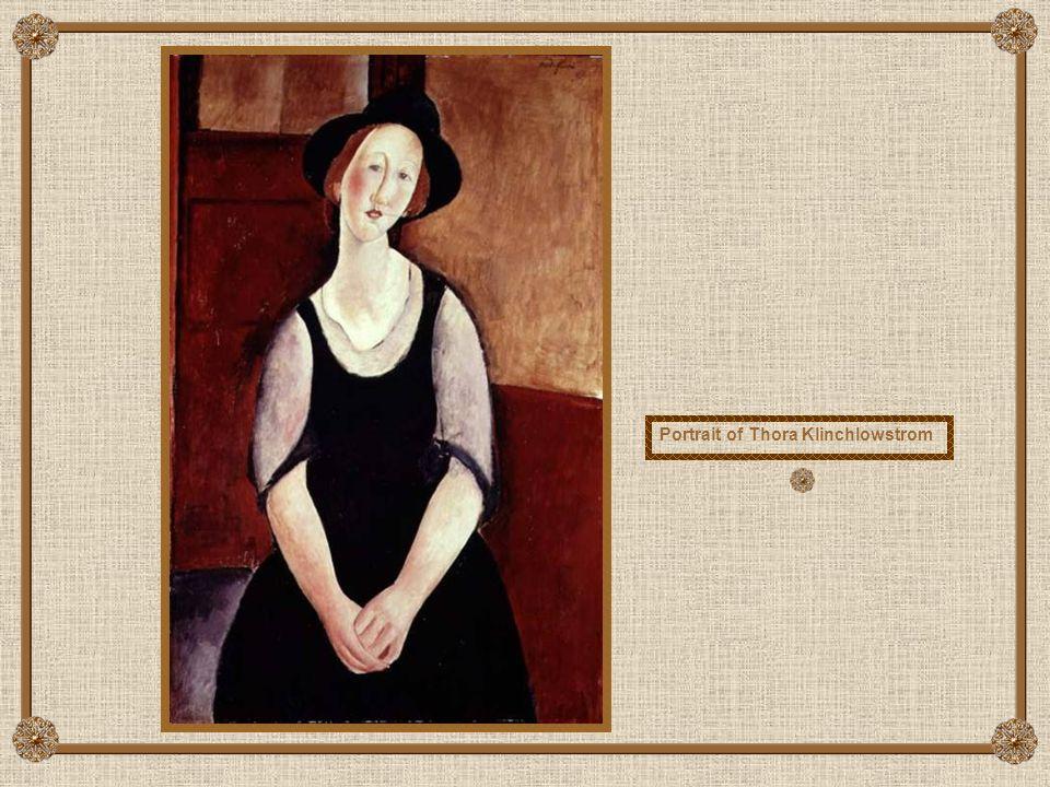 Portrait of Dedie (Dedicated to Odette Hayden)