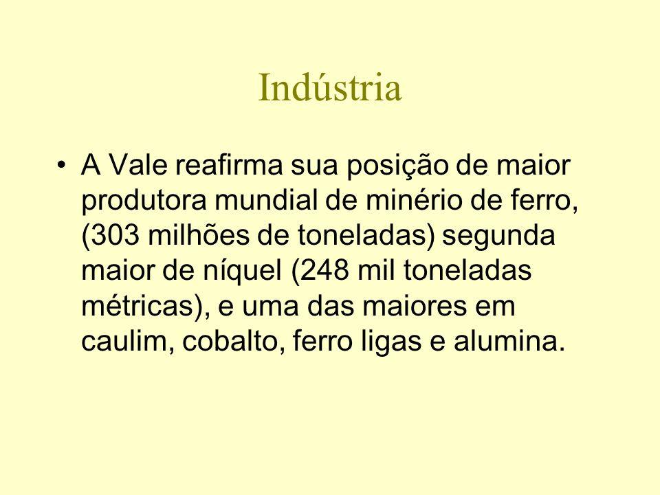 Vale tem lucro recorde R$ 20 bilhões em 2007; receita bruta chega a R$ 66,4 bilhões As exportações somaram US$ 12,492 bilhões. As exportações líquidas