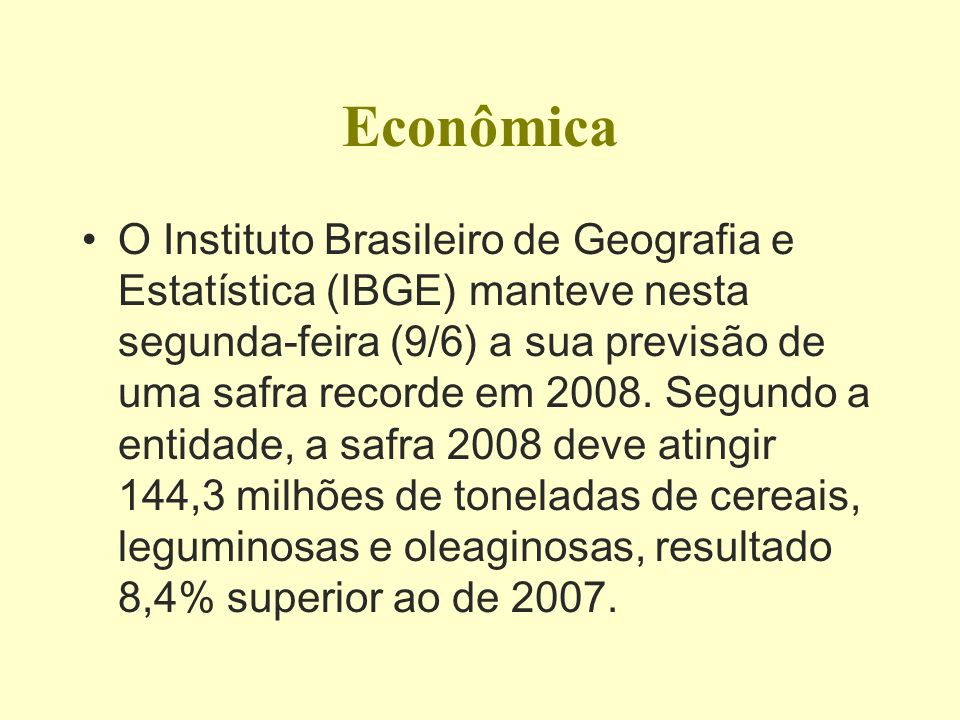 BRASIL A UM PASSO DE SER SUPERPOTÊNCIA BRASIL A UM PASSO DE SER SUPERPOTÊNCIA ( FINANCIAL TIMES, 0 8/07/08) FINANCIAL TIMES, ECONOMIC SUMMARY-2008*-2009* Total GDP (Real bn)----2,808---3,032 Total GDP ($bn)-------1,668.6--1,737.9 Real GDP growth (annual % change)--- -------------------------4.6-----------3.6 GDP per head ($PPP)-10,254---10,702