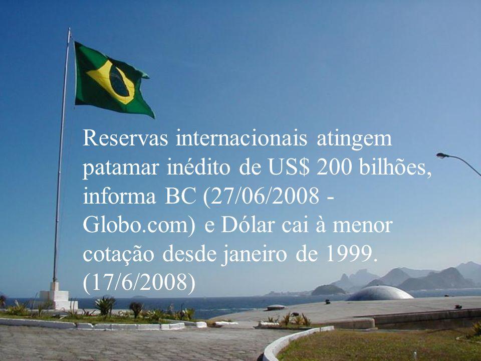 Econômica O Instituto Brasileiro de Geografia e Estatística (IBGE) manteve nesta segunda-feira (9/6) a sua previsão de uma safra recorde em 2008. Segu