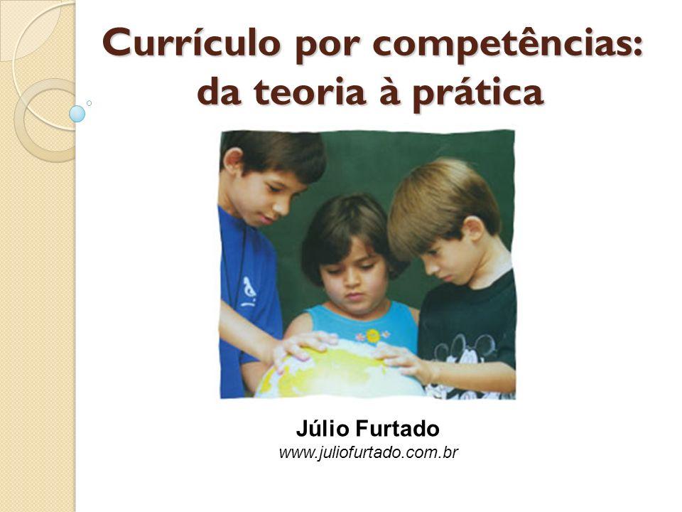 Currículo por competências: da teoria à prática Júlio Furtado www.juliofurtado.com.br
