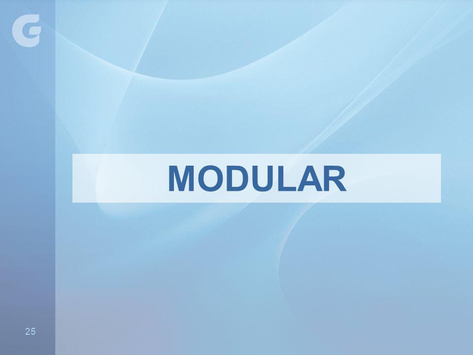 MODULAR 25