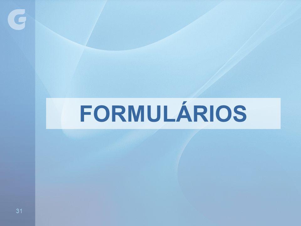 FORMULÁRIOS 31