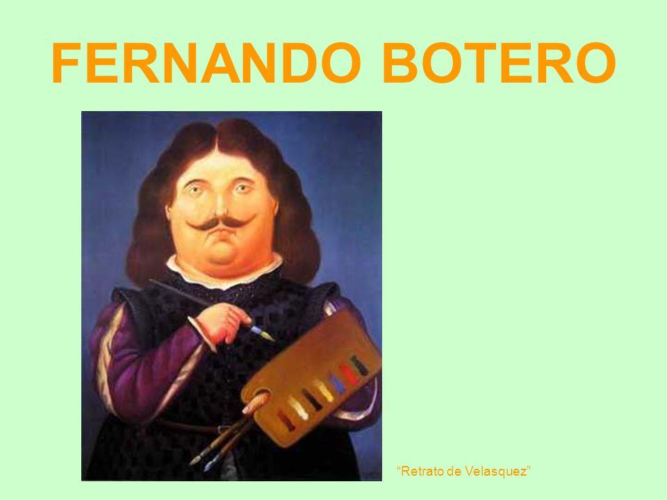 FERNANDO BOTERO Retrato de Velasquez