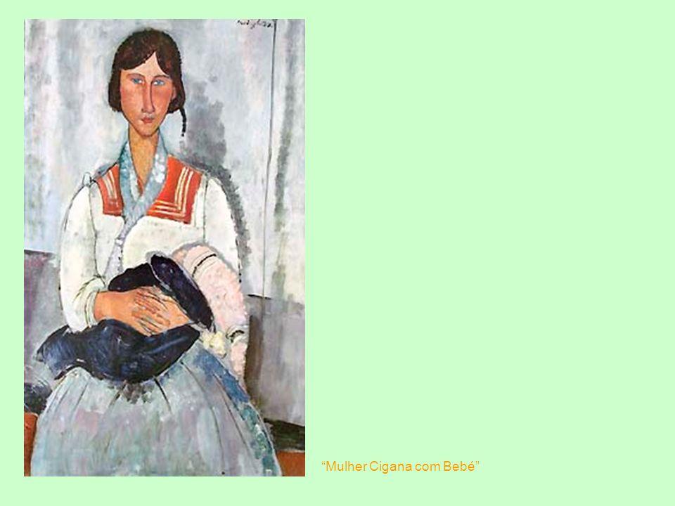 Mulher Cigana com Bebé