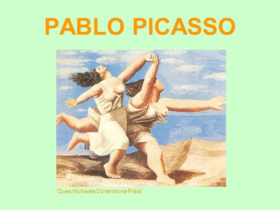 PABLO PICASSO Duas Mulheres Correndo na Praia