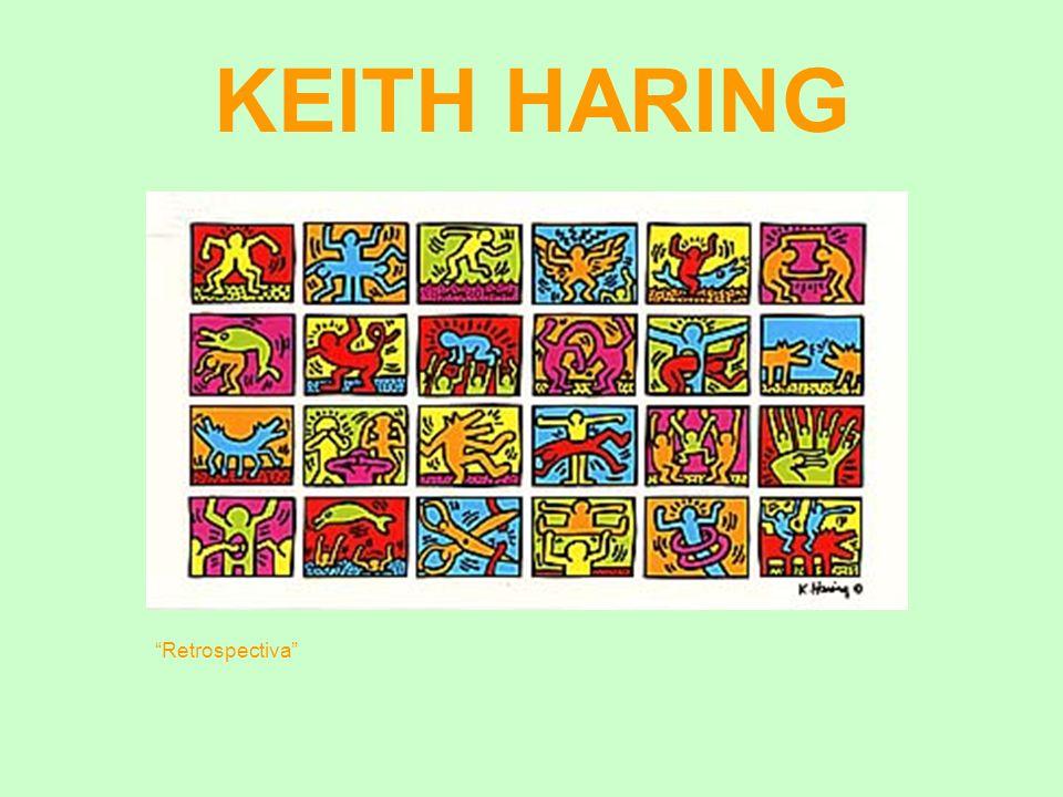 KEITH HARING Retrospectiva