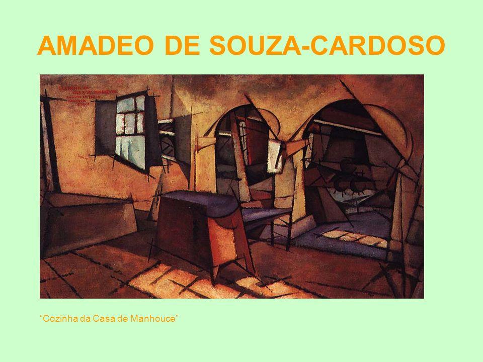 AMADEO DE SOUZA-CARDOSO Cozinha da Casa de Manhouce