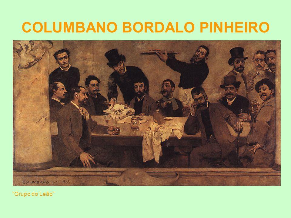 COLUMBANO BORDALO PINHEIRO Grupo do Leão